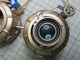 We have a genius on Twitter who made steampunk goggles with his own hand